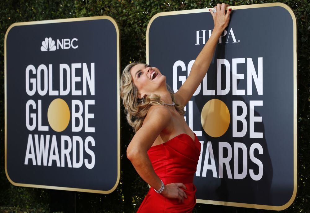 Актриса Мисси Пайл на церемонии вручения премии Золотой глобус в Калифорнии