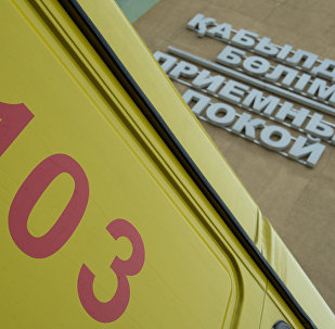 Автомобиль скорой помощи, архивное фото
