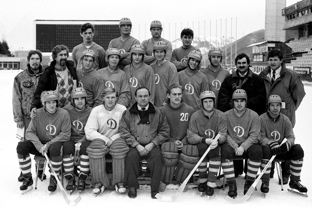 Команда Динамо (Алма-Ата), чемпионы СССР по хоккею с мячом