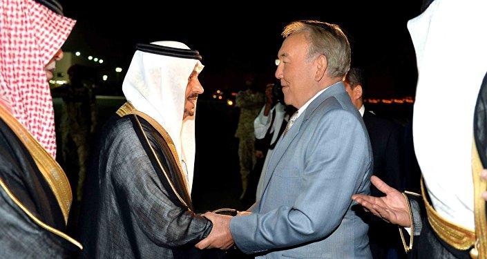 Қазақстан президенті Нұрсұлтан Назарбаев Сауд Арабиясы Корольдігіне ресми сапармен келді