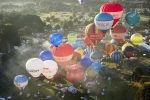 Бристольский международный фестиваль воздушных шаров, Англия