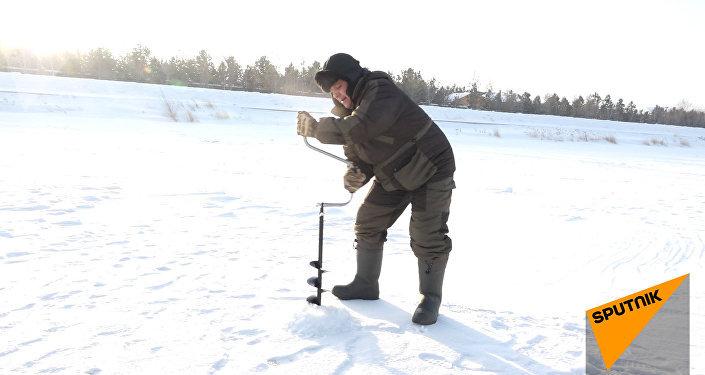 Главное, чтобы жена не узнала: особенности зимней рыбалки в Астане