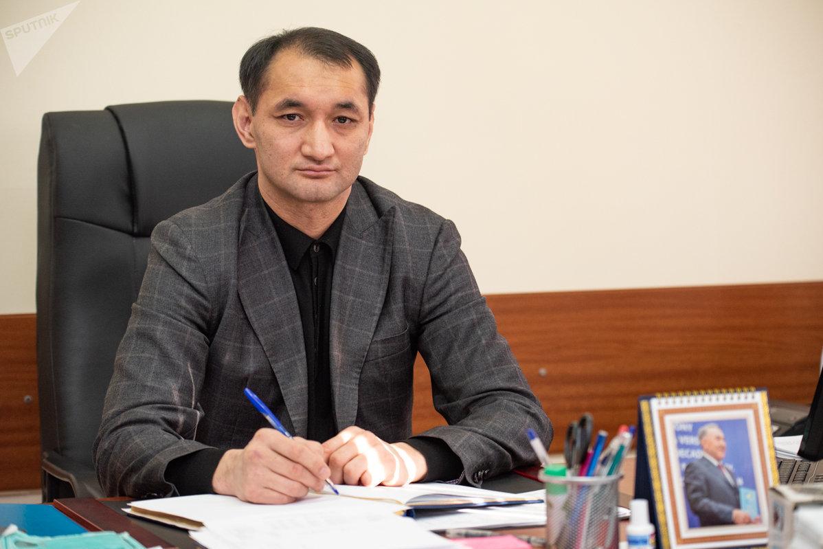 Заместитель начальника управления по борьбе с наркобизнесом ДП Алматы Ерлан Алмагамбетов