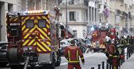 Взрыв газа в Париже