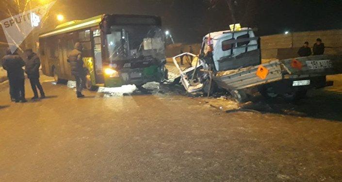 ДТП со смертельным исходом в микрорайоне Шанырак