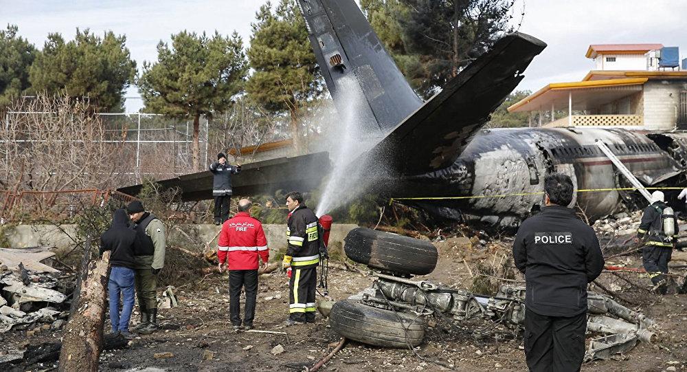 Грузовой Boeing 707 Kyrgyzstan Airlines разбился в Иране