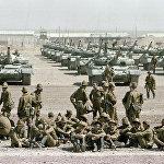 Первые советские полки возвращаются из Афганистана