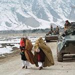 Поэтапный вывод ограниченного контингента советских войск из Афганистана. Первая колонна советских войск отправляется на Родину. Перевал Саланг.