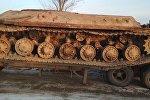 Алматы облысында табылған танк