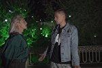 Кадр из видеоинтервью Юрия Дудя с Настей Ивлеевой