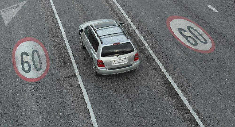 На Аль-Фараби, Саина и восточной объездной автомобильной дороге в Алматы средняя скорость снижена с 80 до 60 км/ч