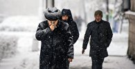 Зимний Бишкек