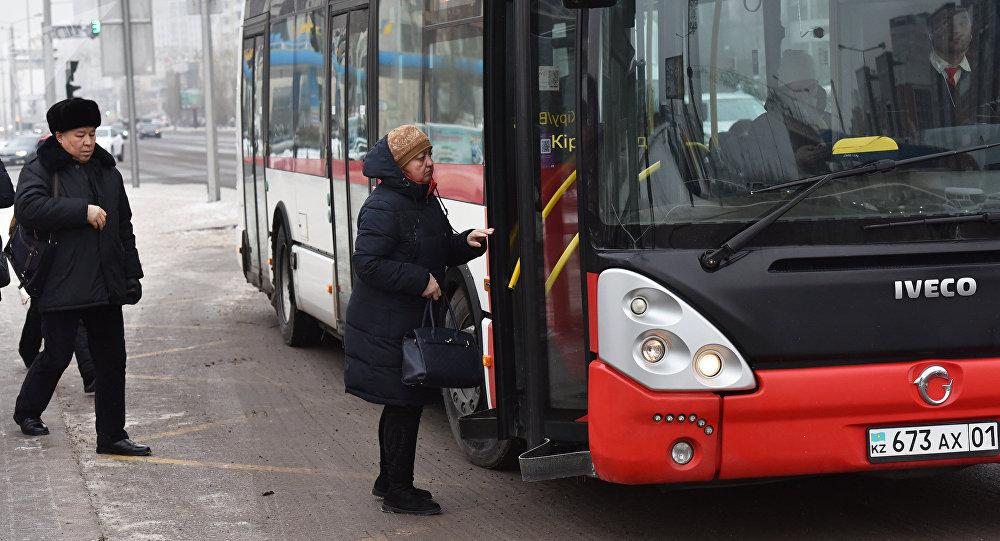Жолаушылар автобусы, архивтегі фото