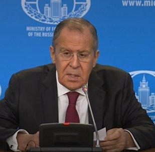 Большая пресс-конференция главы МИД РФ Сергея Лаврова