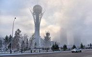 Зима в Астане