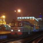 Вид на ночной Минск, Беларусь