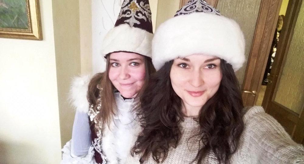 Елизавета Осипова и Анастасия Решетникова