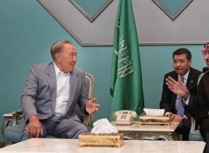 Визит президента Казахстана в Саудовскую Аравию