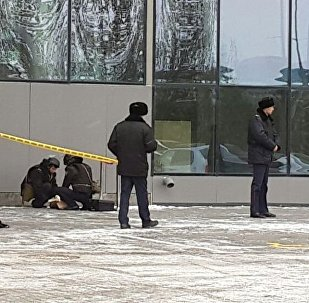Подозрительный пакет нашли рядом со зданием Қазмедиа орталығы (КМО)