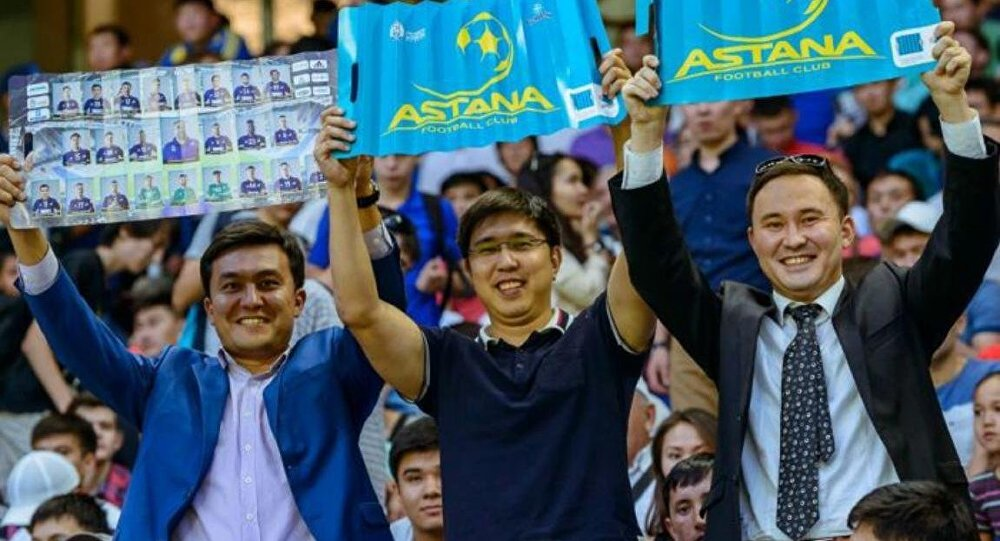 «Астана» 3-й раз кряду выиграла чемпионат Казахстана