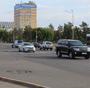 Архивное фото города Павлодар