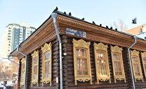 Деревянное здание, в котором расположен музей Сакена Сейфуллина, был построен в 1846 году