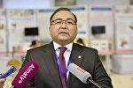 Директор Национального центра тестирования Рамазан Алимкулов