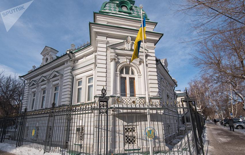 Здание посольства Украины в Астане