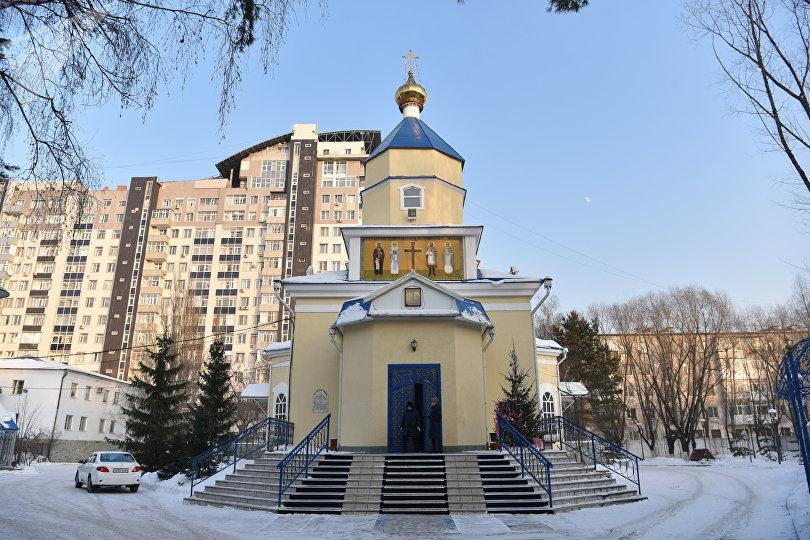 Константино-Еленинская церковь была построена в XIX веке