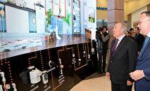 Посещение ситуационного центра Smart Aqkol