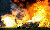 Взрыв. Архивное фото