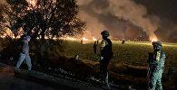 Нефтепровод взорвался в мексиканском штате Идальго