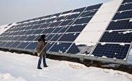 Солнечная электростанция, архивное фото