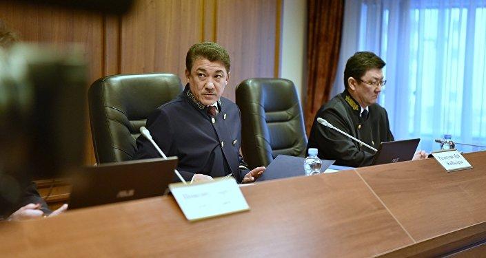 Председательствующий судья Абай Рахметуллин