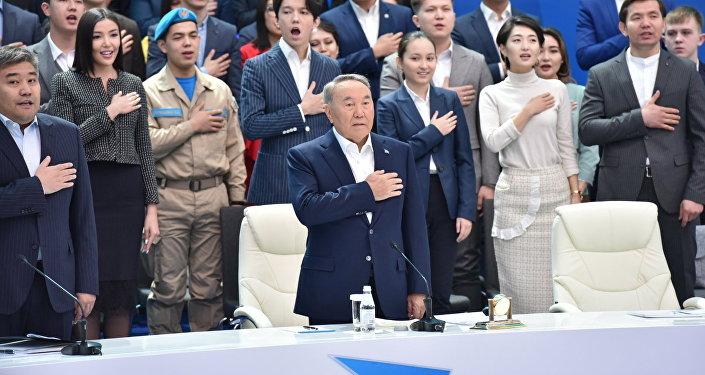Торжественная церемония открытия Года молодежи Тәуелсіздіктің ұрпақтары с участием главы государства Нурсултана Назарбаева