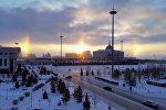 Три солнца в Астане - фотофакт