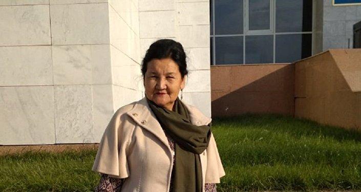 Руководитель общественного объединения Ел бірлігі Шолпан Ризабекова