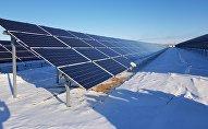 Запуск новой электростанции в Сарани