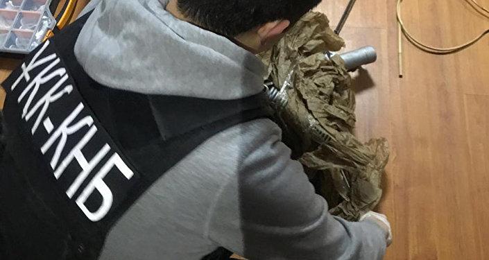 Әскери техниканы заңсыз тасымалдау әрекеті тоқтатылған арнайы операция
