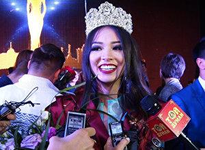 Мисс Астана-2016 Ельназ Нурсеитова
