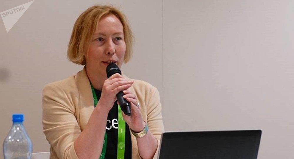 Координатор программ ЮНИСЕФ по защите прав детей в Казахстане Татьяна Адерихина