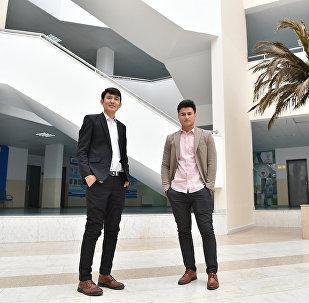 Студенты ЕНУ из Афганистана