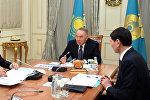 Встреча с председателем Национального банка Данияром Акишевым