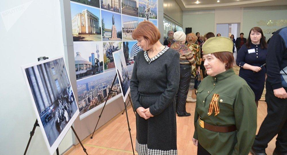 Фотовыставка, посвященная 75-летию снятия блокады Ленинграда