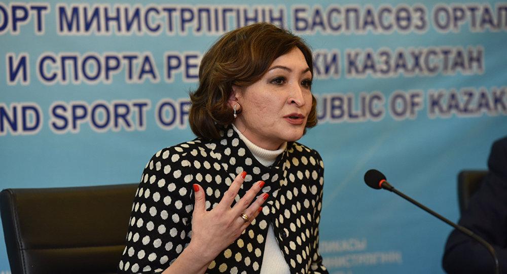 Заместитель директора Государственного академического театра оперы и балета имени Абая Ая Калиева