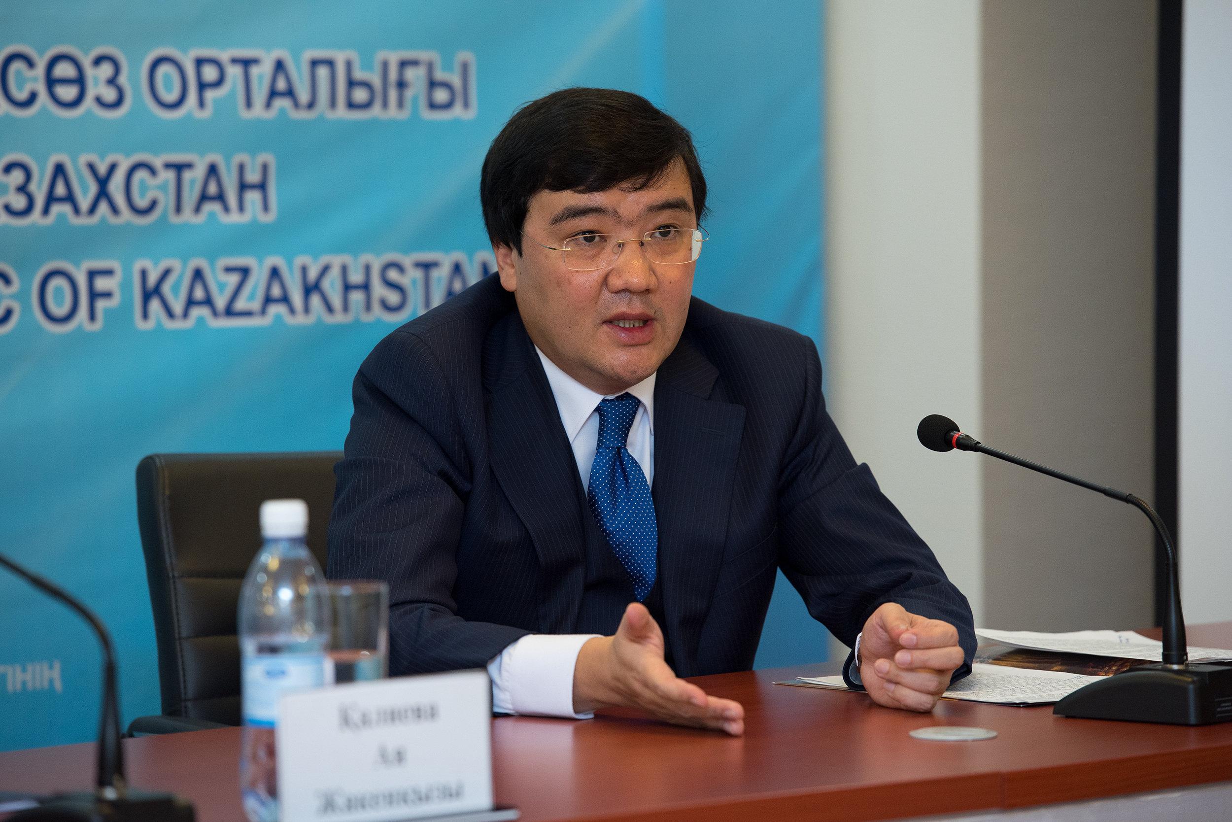 Директор Государственного театра оперы и балета Астана Опера Галым Ахмедьяров