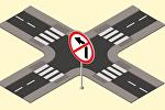 Запрещены повороты налево