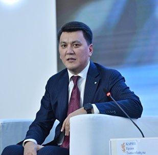 Председатель правления телеканала Казахстан Ерлан Карин