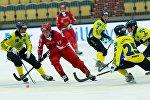 На чемпионате мира по хоккею с мячом в Швеции сборная Казахстана крупно уступила российским оппонентам