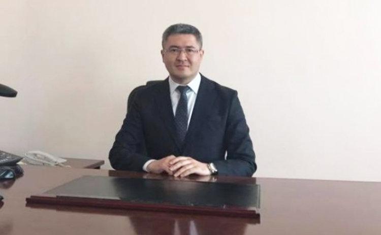 Аким Егиндыкольского района Акмолинской области Ерлан Исабеков